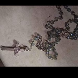 Jewelry - Gorgeous sterling Rosary